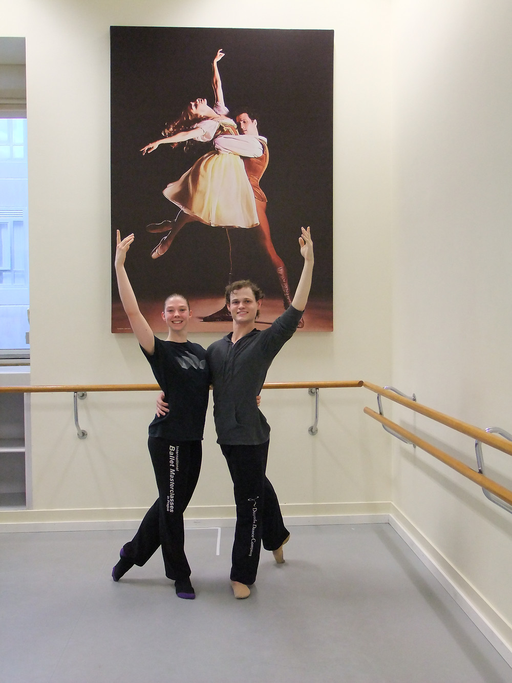 Tiffanie Hughes & Billy Laherty Studio 5 'The Australian Ballet'