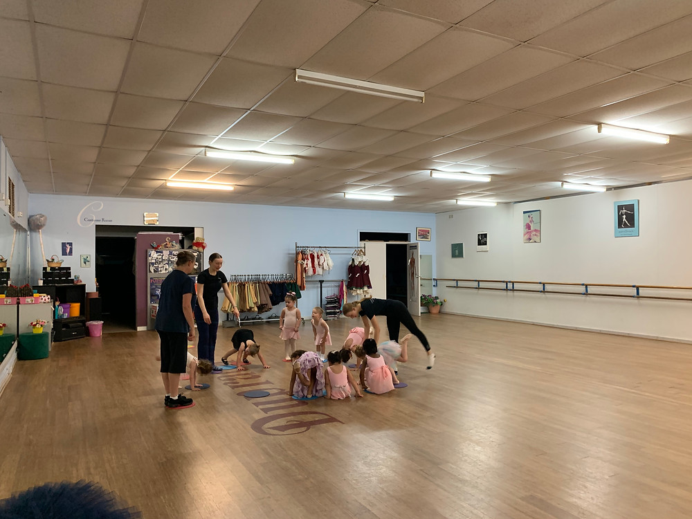 Our very new Level 1 dancers.