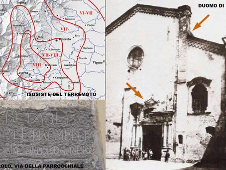 2 Aprile 1808 - Il violento terremoto che distrusse il Pinerolese