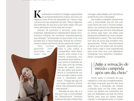 Kel Boaretto - Curiosa. Inquieta e apaixonada!
