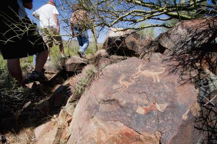 Petroglyph near Cave Creek