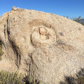 Native American symbol at H.B. Wallace Preserve