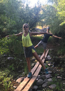 Pilates at the Jewel of the Creek