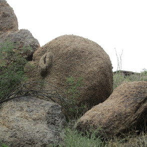 Boulders on Black Mountain Preserve