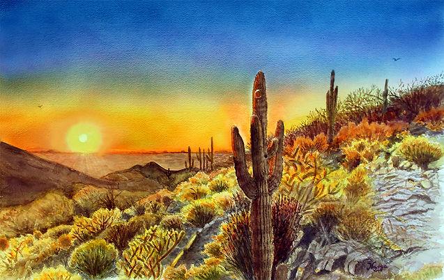 Varga-Hansen Maria Arizona's Sunset.jpg