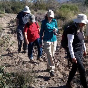 Hikers at Desert Enclave