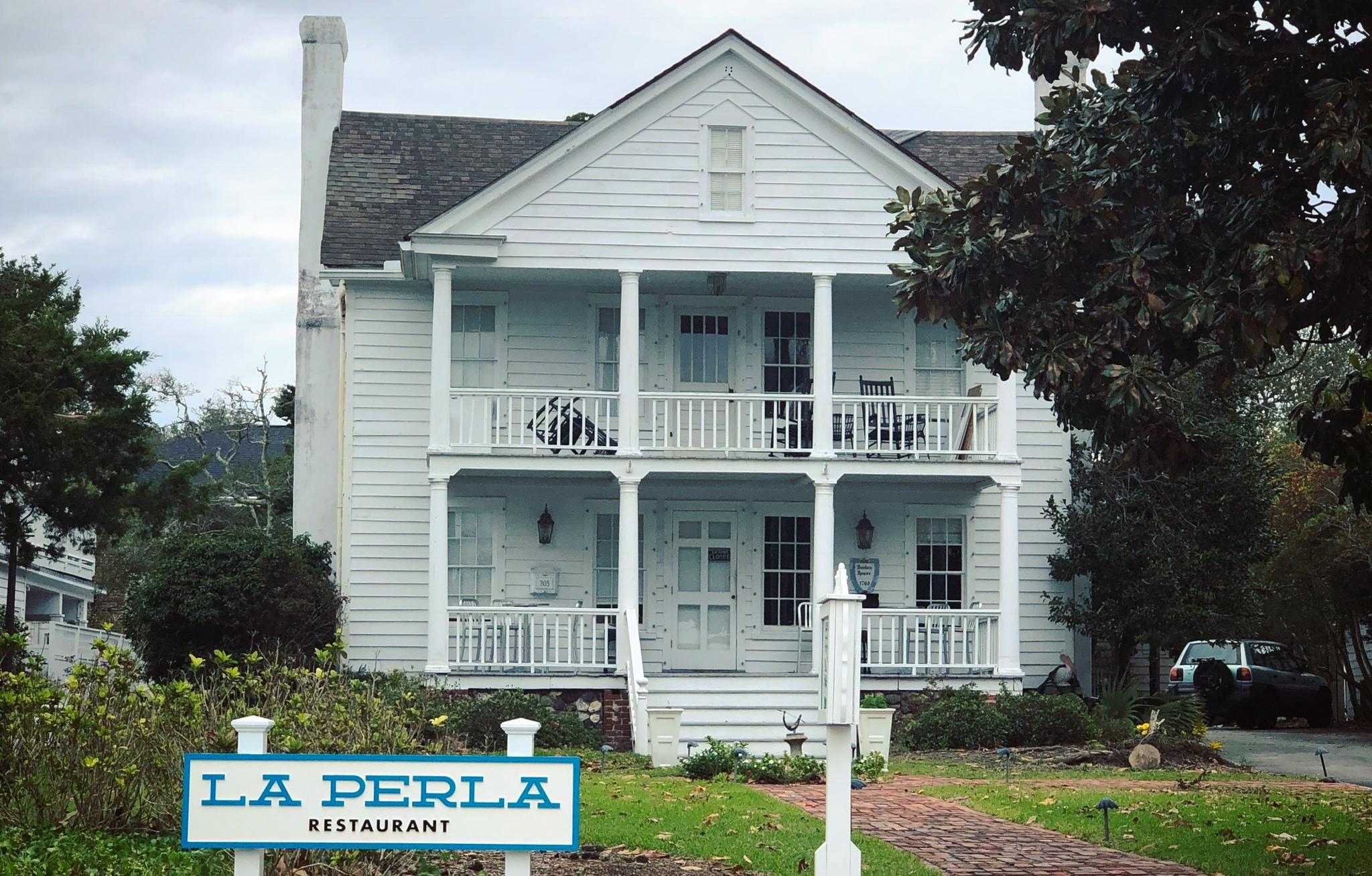 La Perla Restaurant in historic Beaufort