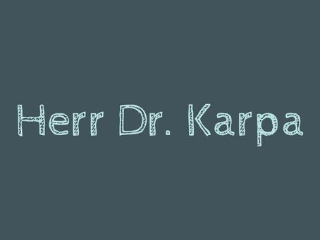 """""""Noten sind auch nicht alles im Leben"""" - im Interview mit Herrn Dr. Karpa"""