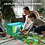 Thumbnail: EMBRACE PLAY Toy box - 2 in 1 collapsible toy bin and playmat for kids - toy box