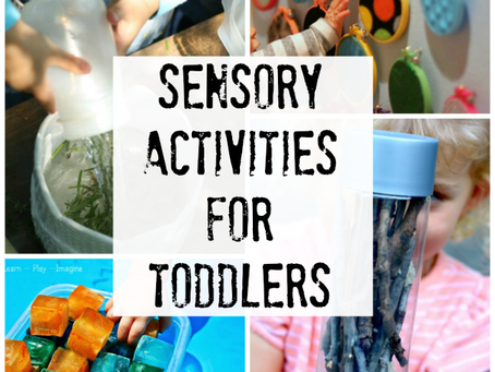 5 Sensory Play Activities for Toddlers