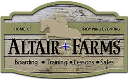 Altair Farm Sign