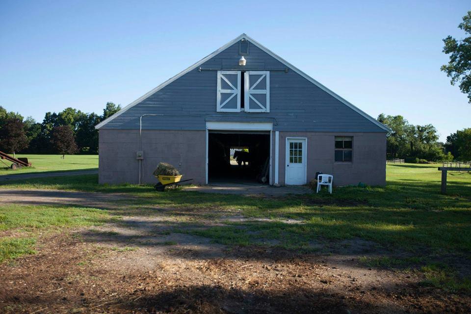 Outside of Large Barn