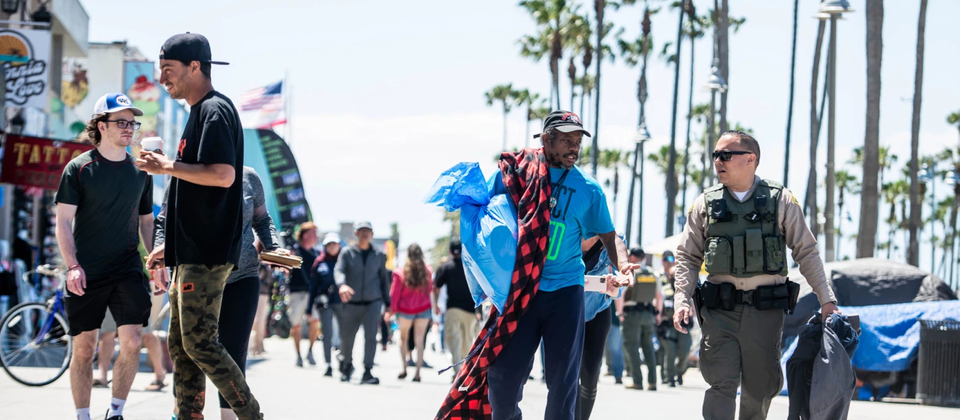 Sheriff Villanueva's justified Venice Beach intervention