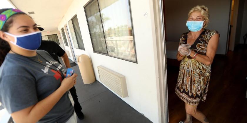 L.A. homeless housing COVID program fell short of goal