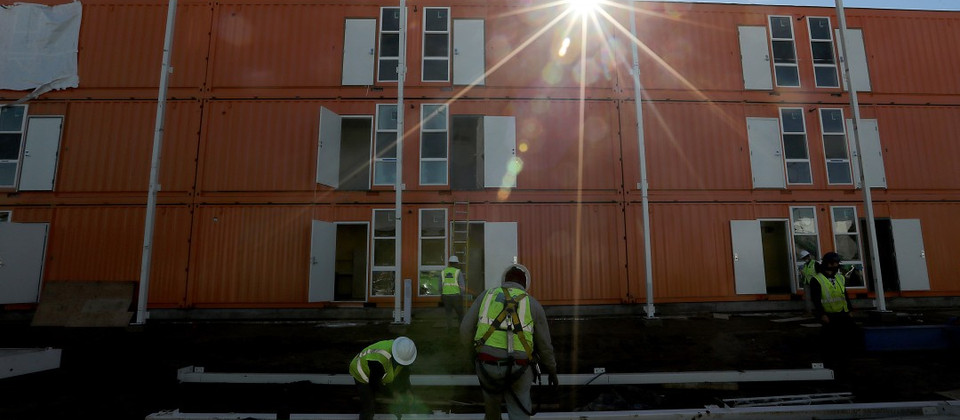 L.A. project shows homeless housing can be done quickly, cheaply