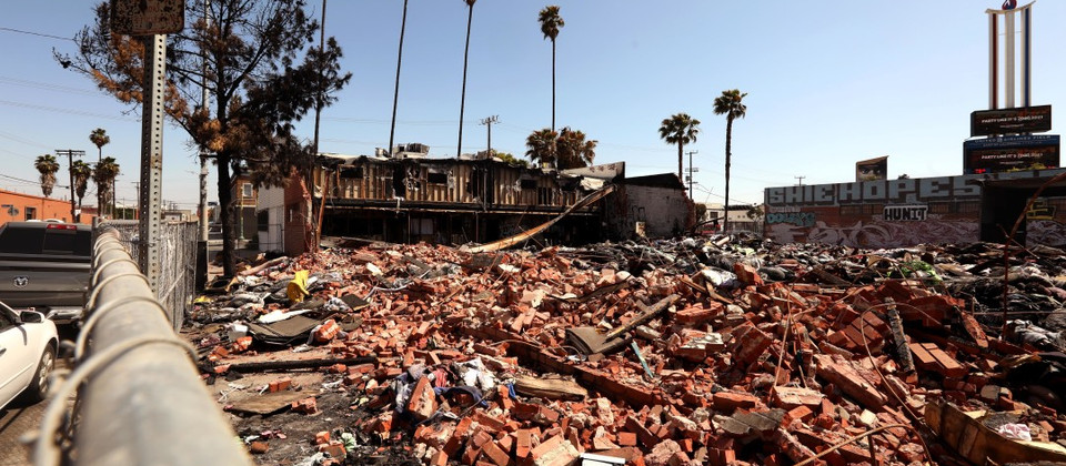 Another consequence of L.A. homelessness: 24 fires a day