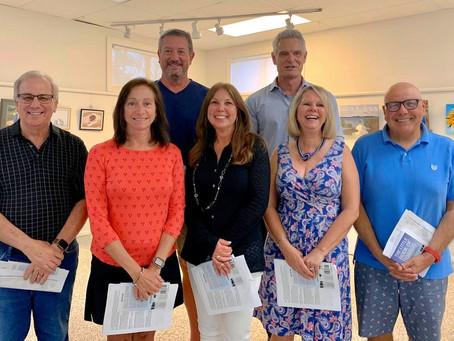 Welcome new Board Members and Board President, John Ashby