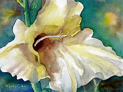 Painting of gladiola