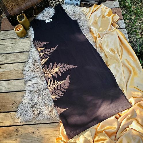 XLarge Metallic Fern Dress