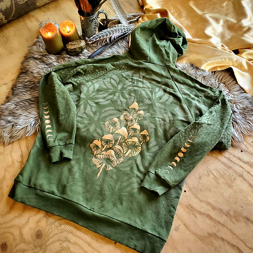 XLarge Golden Jade Spore French Terry Hoodie