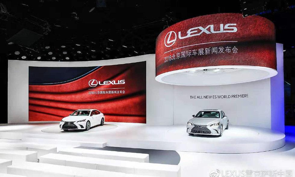 2018北京雷克萨斯车展项目