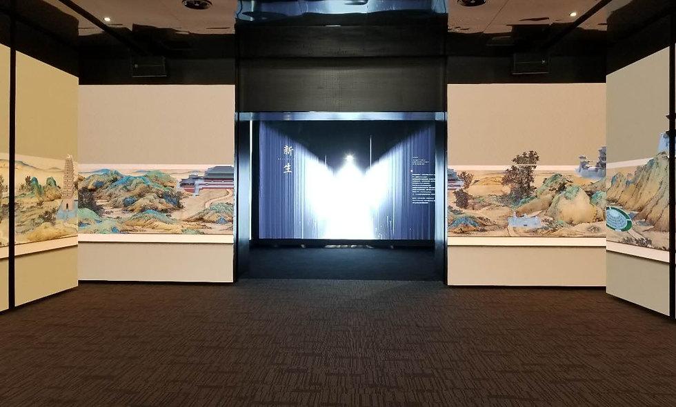 西安曲江新区文化展厅