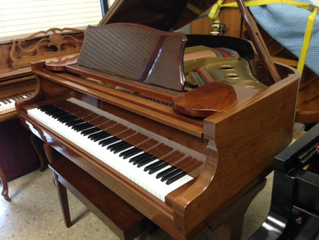 My first grand piano (A George Steck!)