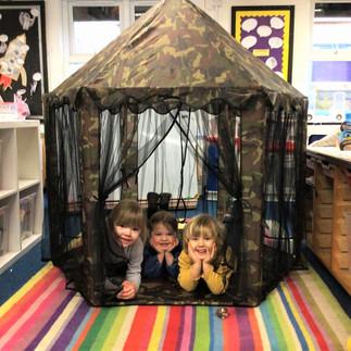 watching for dinosaurs in our hideout.jpg