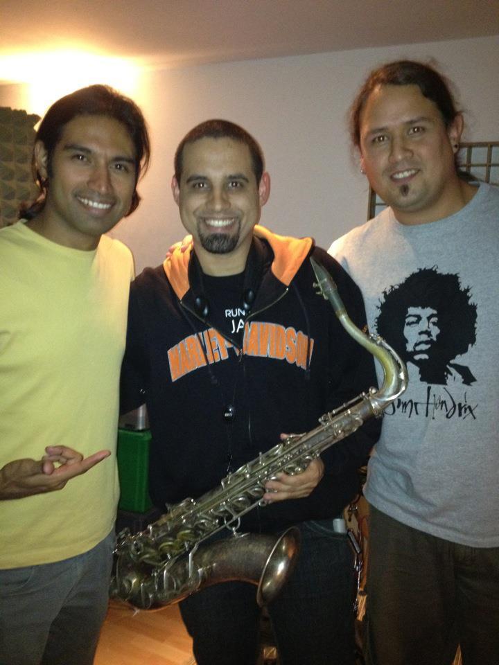 Con Randolf Jimenez y Aendris