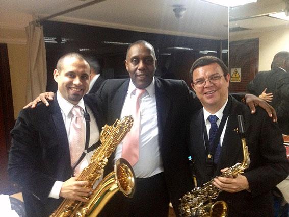 Show PorfiJimenez Samy y Julio Flore