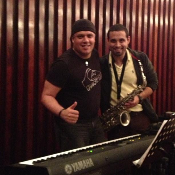 con Hildemaro Alvarez Festival Voz M