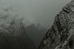 tomenta en el annapurna, nepal