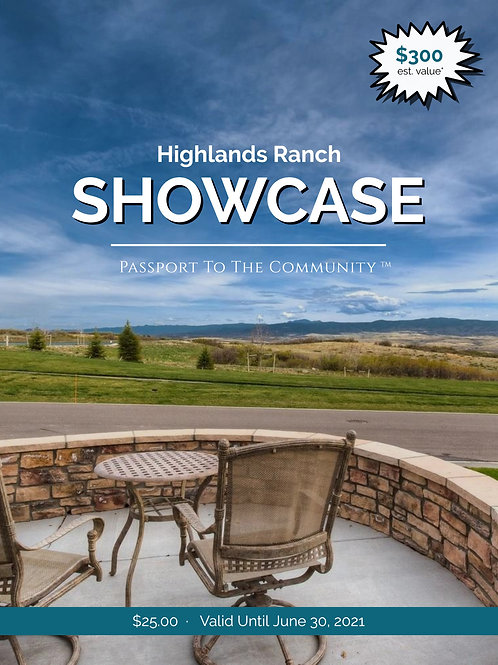 2020-21 Highlands Ranch Restaurant Passport