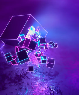 abstract-modern-neon-ultraviolet-three-dimensional-background-lot-cubes-flying-explosion-m