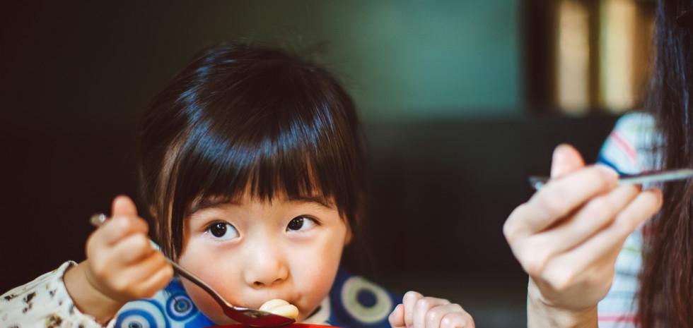 comidas para niños
