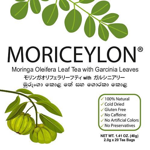 Moringa Leaf Tea with Garcinia Leaves
