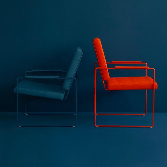 VICTOR FOXTROT SWELL TIME Loungechair & Armchair petrol blutorange 300_q.jpg