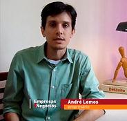 Caricaturista André Lemos em entrevista para o PEGN da Globo