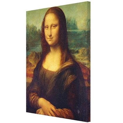 Canvas Monaliza 75 x 100 cm (Tela impressa sobre chassi de madeira)