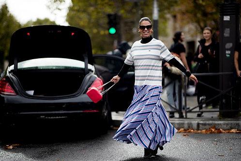 Una charla exclusiva mientras ocurre Paris Fashion Week (PFW) Spring/Summer 2021