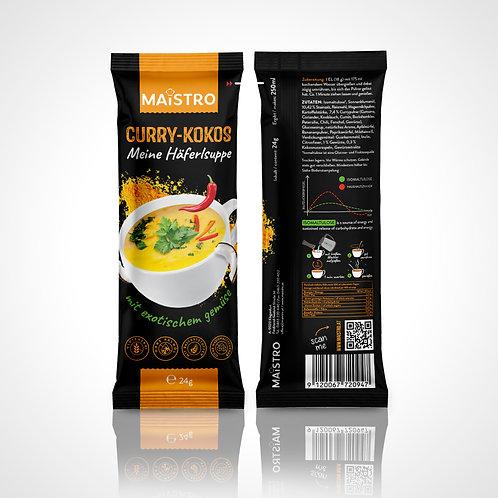 MAISTRO Häferlsuppe - Curry Kokos (Portionsbeutel 24g)
