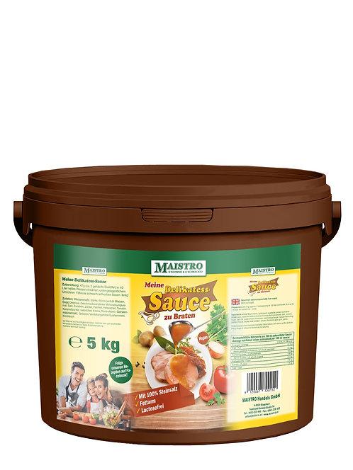MAISTRO Delikatess Sauce 5kg - Vegan und schnell zubereitet