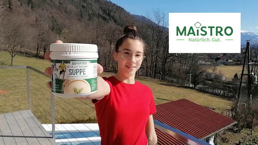 Lisas Power mit Vita Fit Sportsuppe