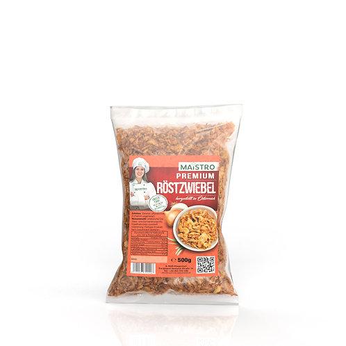 MAISTRO Premium Röstzwiebel 500g - Zum Kochen, Würzen oder Garnieren