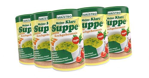 MAISTRO VORTEILSPACK 9Stück MAISTRO Klare Suppe 900g/45L