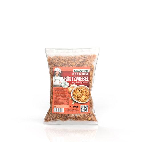 MAISTRO Premium Röstzwiebel 200g - Zum Kochen, Würzen oder Garnieren
