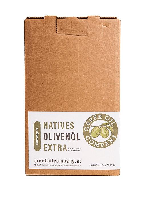 """Olivenöl """"NATIV EXTRA"""" Extra Vergine  5L (Bag in Box)"""