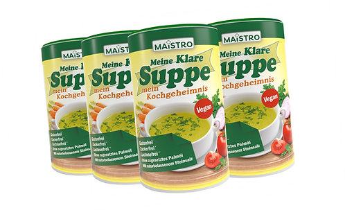 MAISTRO VORTEILSPACK 6Stück MAISTRO Klare Suppe 900g/45L