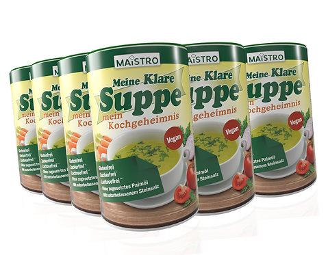 MAISTRO MEGAPACK 12 Stück Meine klare Suppe.