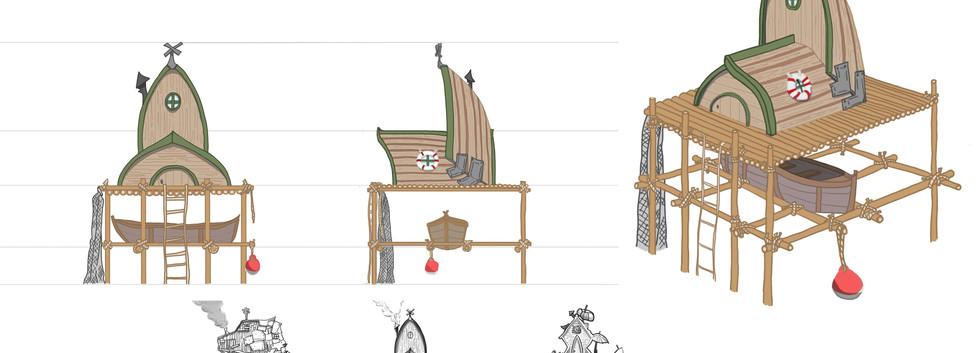 Fisherman's hut - Final Design
